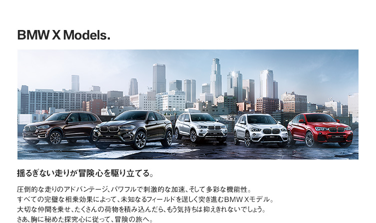 BMW X Models.