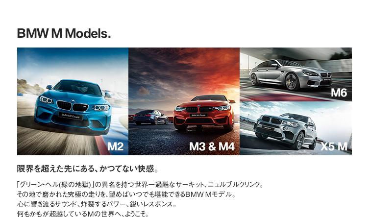 BMW M Models.